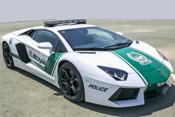 Urutan Mobil Super yang Dijadikan Armada Kepolisian